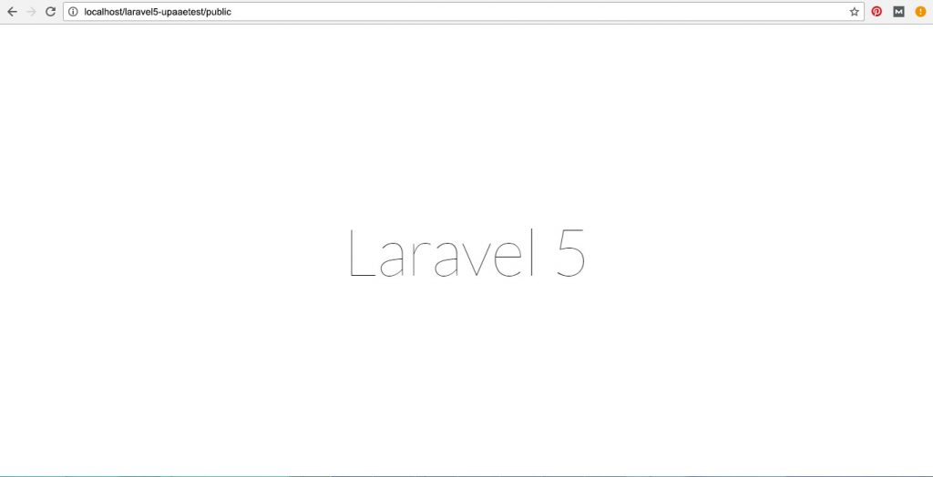 install laravel on xampp with 4 simple steps