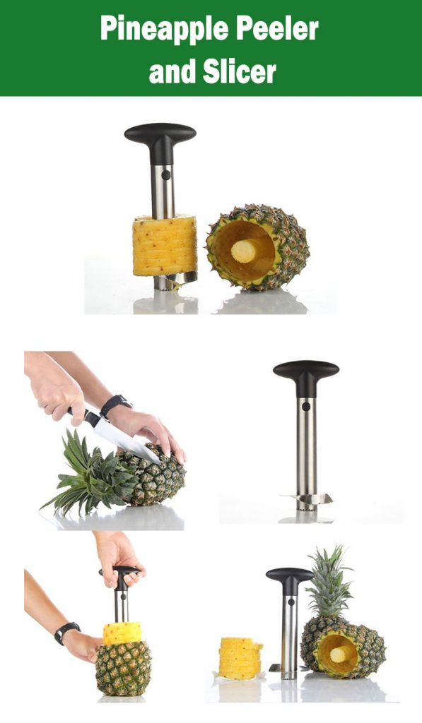 Pineapple Peeler and Slicer