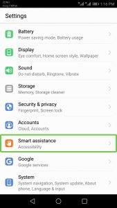 Android Smart Assistance