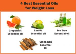 4 Best Essential Oils for weight loss