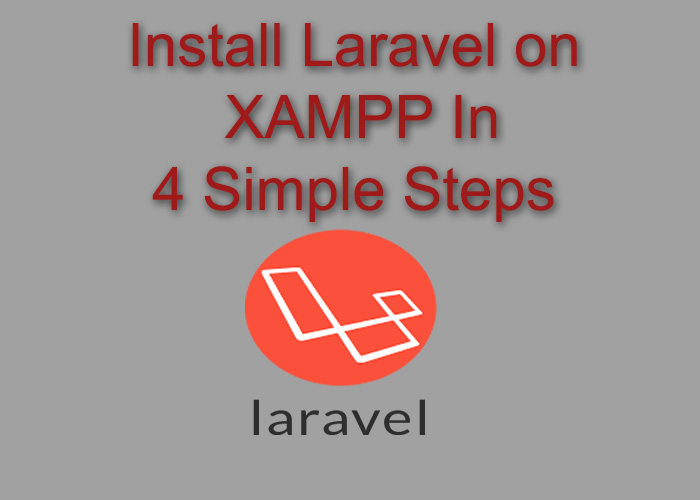 install laravel win 10