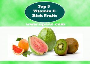 Top 5 Vitamin C Rich Fruits