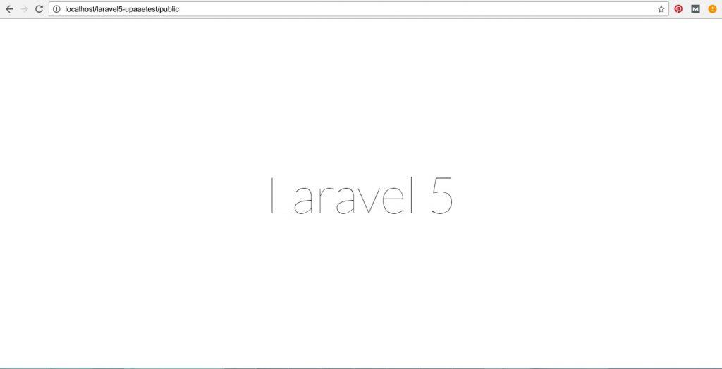 install laravel on xampp with 4 simple steps