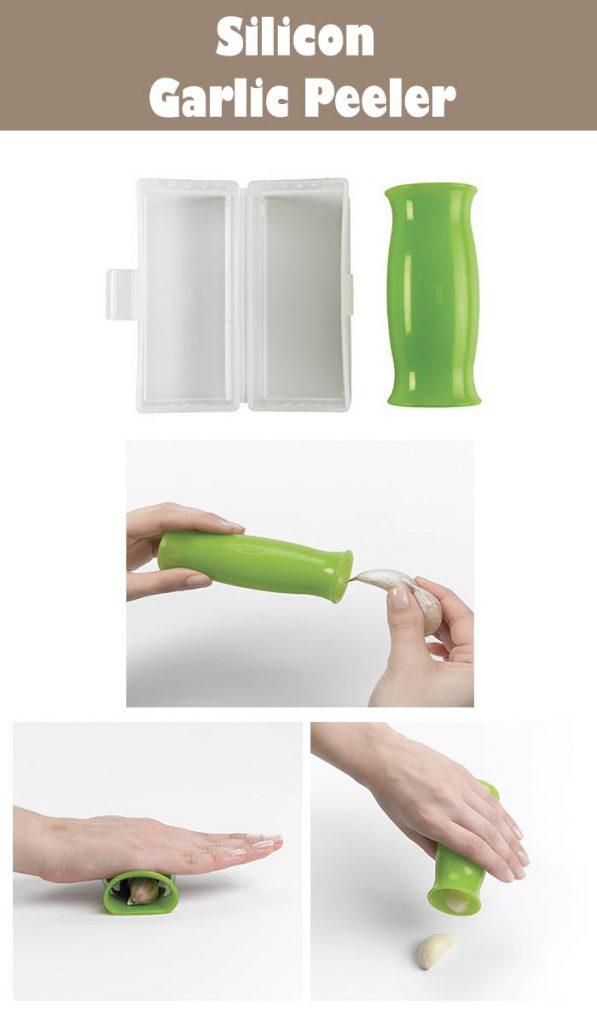 Silicon Garlic Peeler