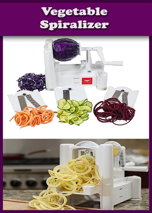 Vegetable Spiralizer.Best Kitchen Tools and Kitchen Equipment