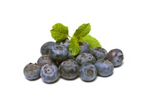 Vitamin E in blueberries