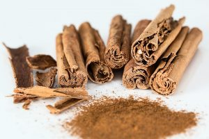 Vitamin E in cinnamon grounded
