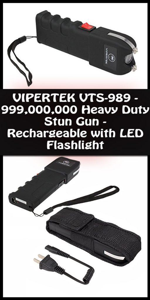 VIPERTEK VTS-989 stun gun Personal security tool