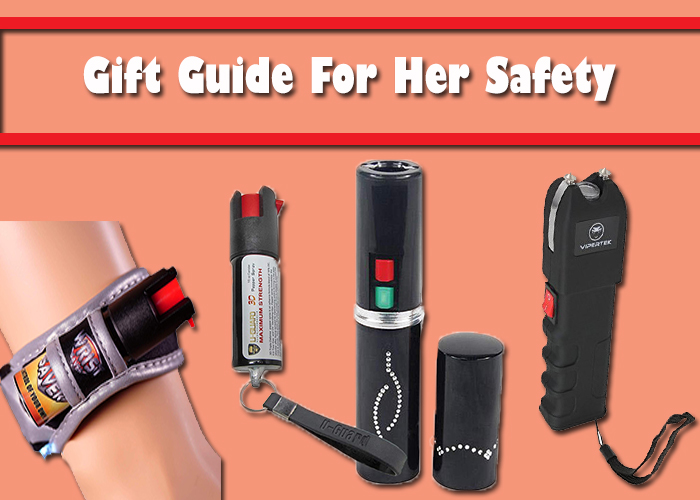 gift guide for her safety