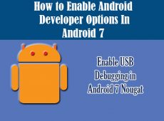 How to Enable USB Debugging in Android 6 0 1 Marshmallow