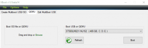 create windows 10 installation media using Xboot