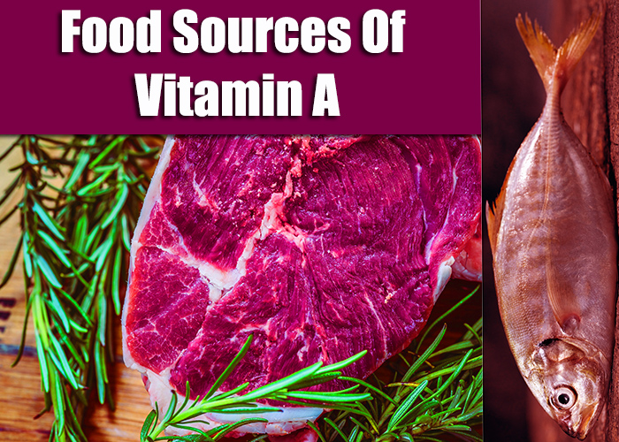 Vitamin A foods sources