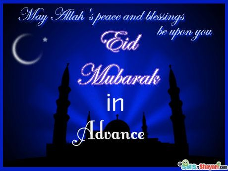 Happy Eid in Advance