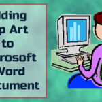 How to add a clip art in Microsoft word.