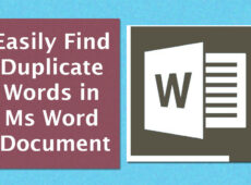 How-to-find-duplicate-words-in-Ms-word-easily